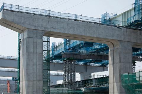 橋梁下部工イメージ写真